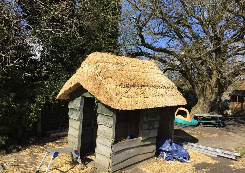 Finshed hut